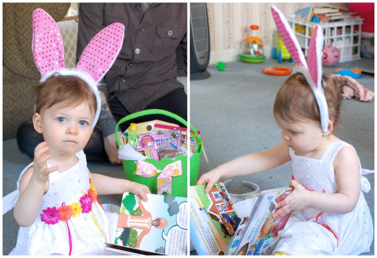 Bunnies, Books & Bad Attitudes: A Rosebuds Easter Morning.