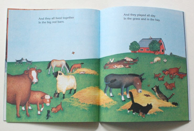 Scholastic Big Red Barn book interior pages