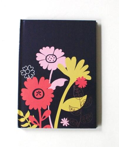 Flower journal cover