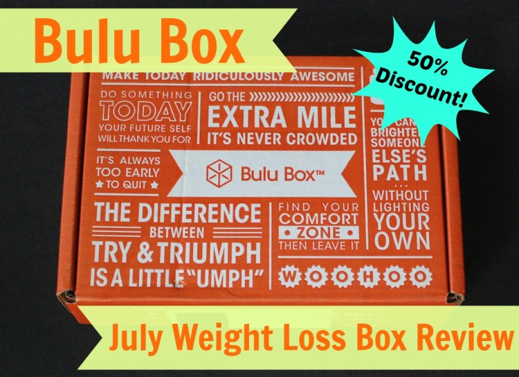 Bulu Box July 2014 Review, 50% Discount Code, & Free Subscription to Women's Health!