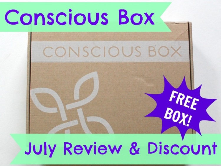 Conscious Box July 2014 Review & Code for FREE Box!