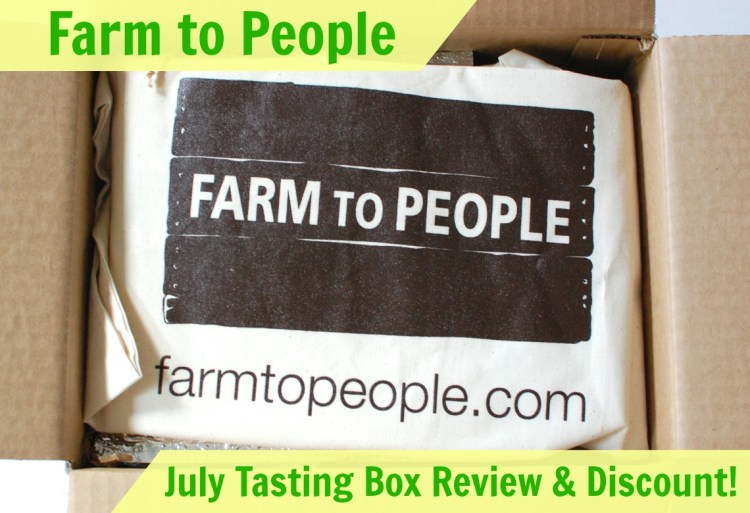 Farm to People Tasting Box July 2014 Review & 25% Discount Code!