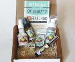Gourmet Body Treats box