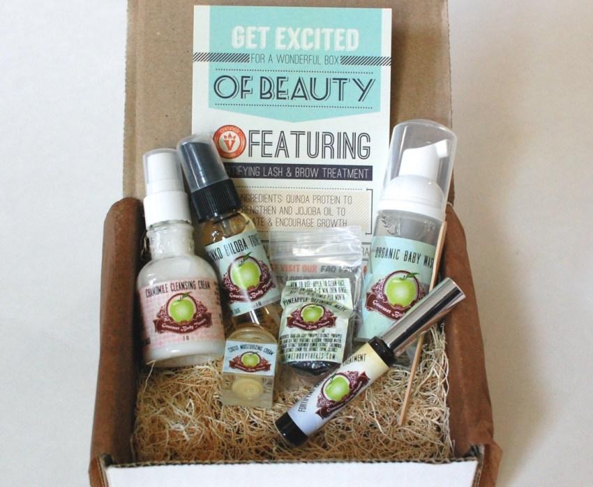 Gourmet Body Treats box