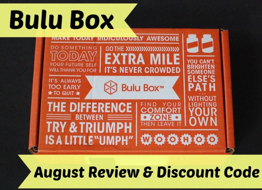 Bulu Box August review & discount