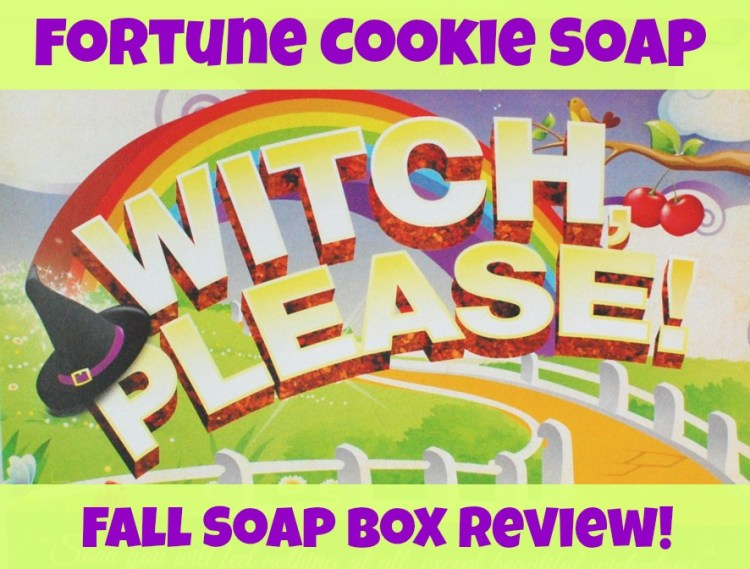 Fortune Cookie Soap Fall Soap Box Review & Discount