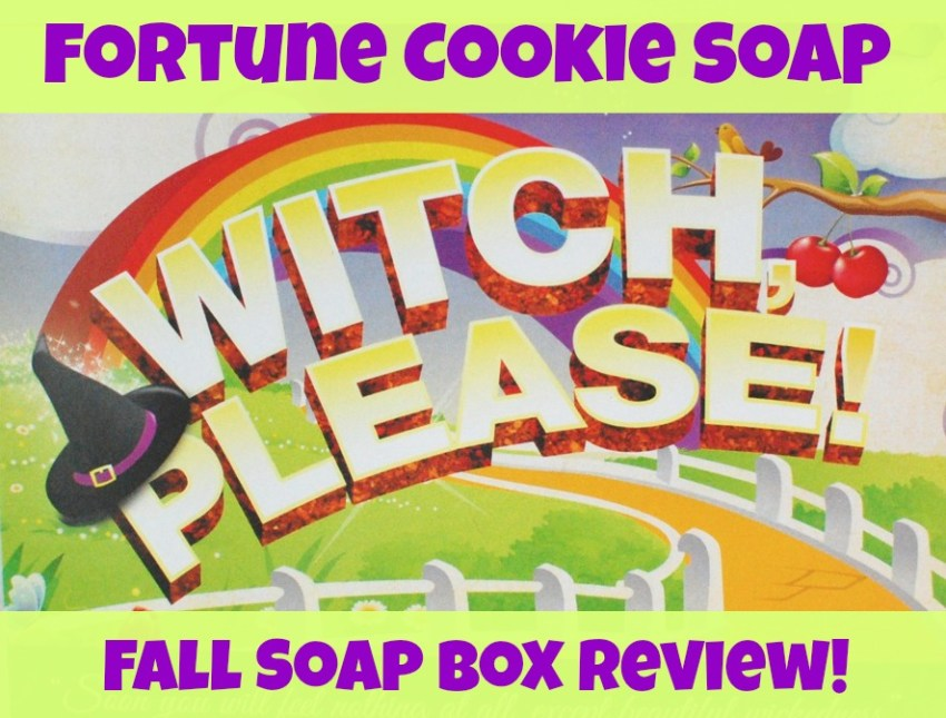 Fortune Cookie Soap Fall Soap Box Review
