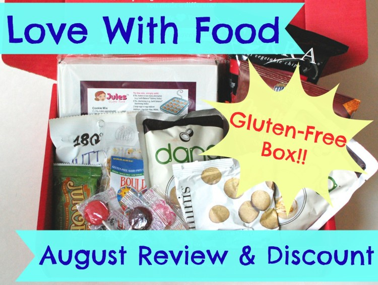 Love With Food Gluten-Free Box August 2014 Review
