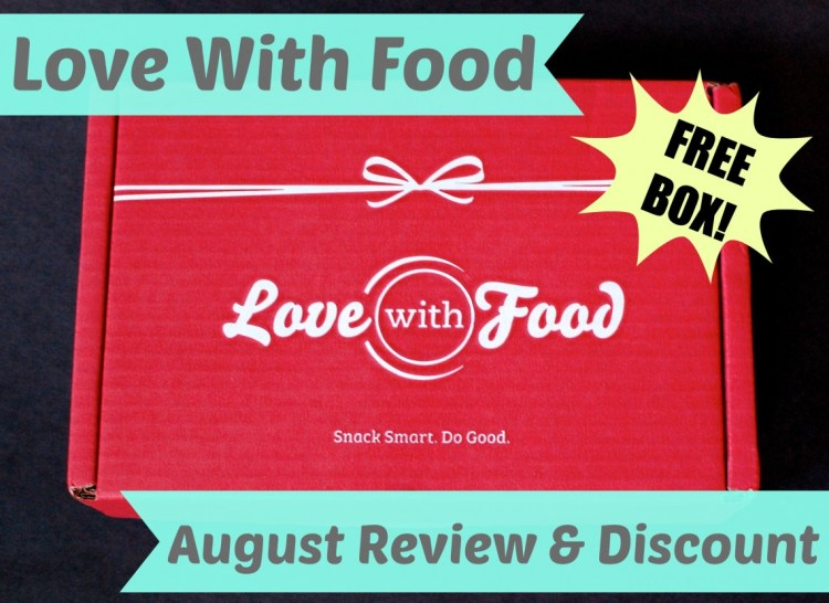 Love With Food August 2014 Review & Code for FREE Box!