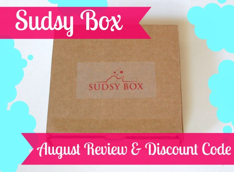 Sudsy Box August 2014 Review & Discount Code!