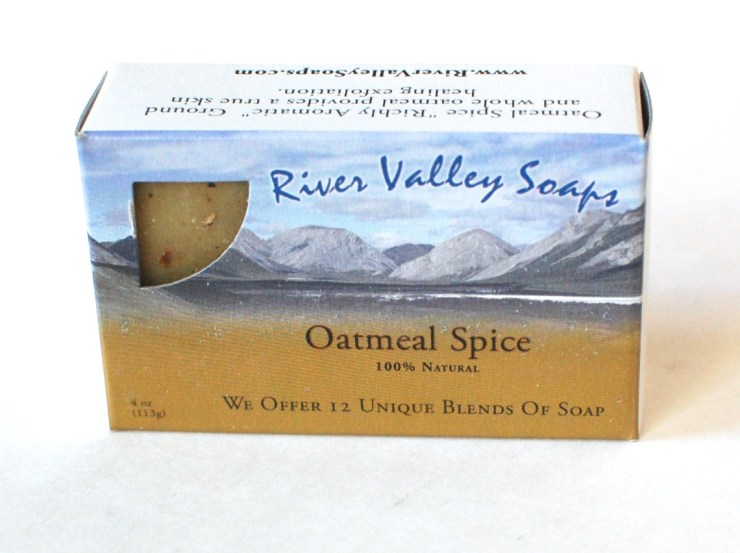 River Valley Soaps Oatmeal Spice bar