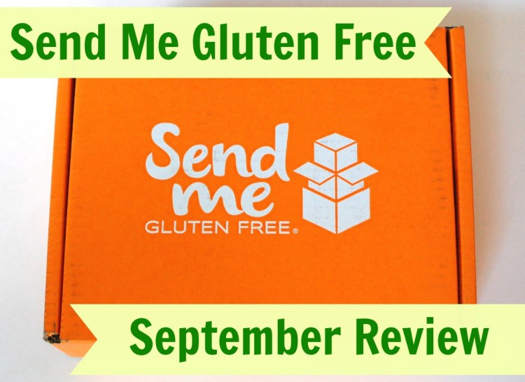 Send Me Gluten Free September 2014 Review & Discount Code!