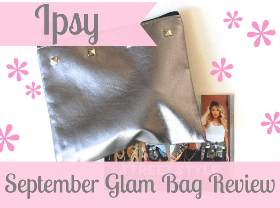Ipsy September Glam Bag review