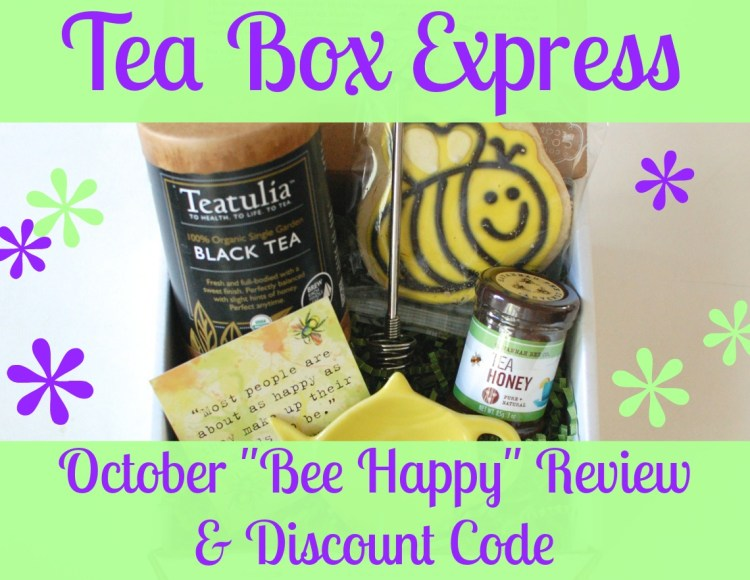 Tea Box Express October Review & Discount Code