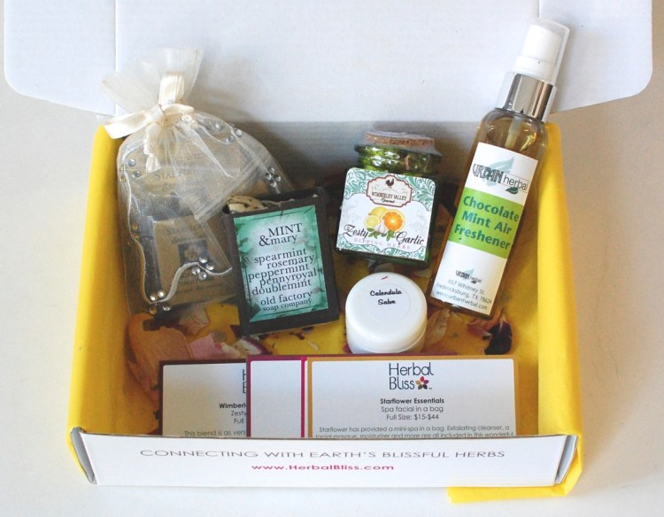 Herbal Bliss October 2014 Review & Giveaway