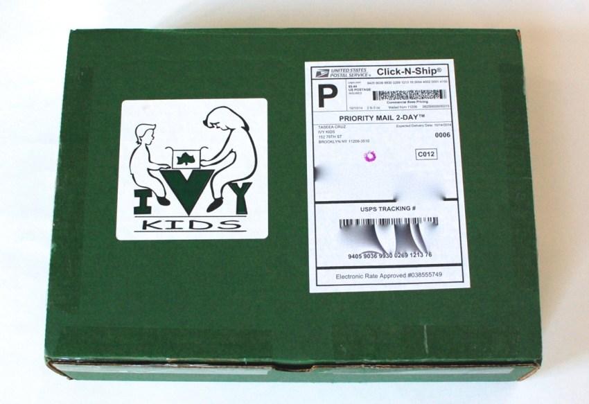 October 2014 Ivy Kids box