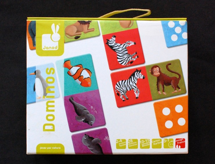 Janod animal dominoes