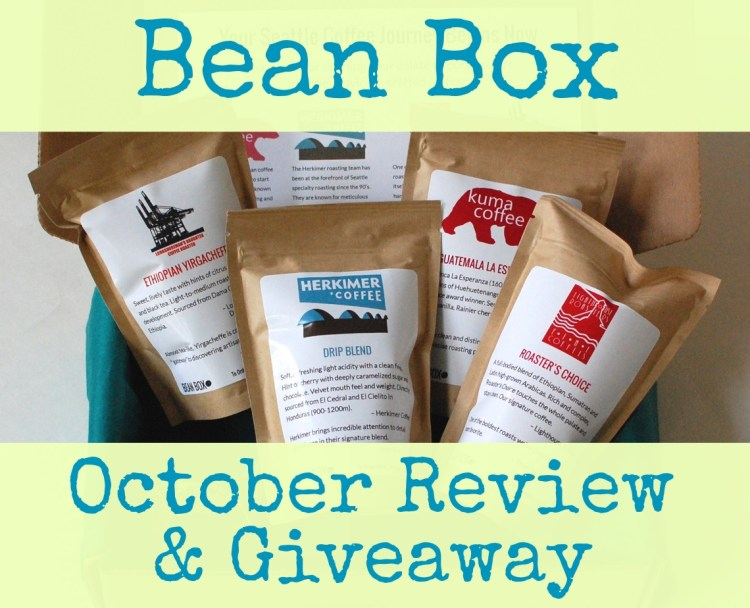 Bean Box October 2014 Review & Giveaway