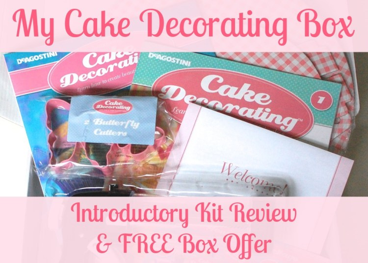 My Cake Decorating Box Introductory Kit Review & Free Box Offer