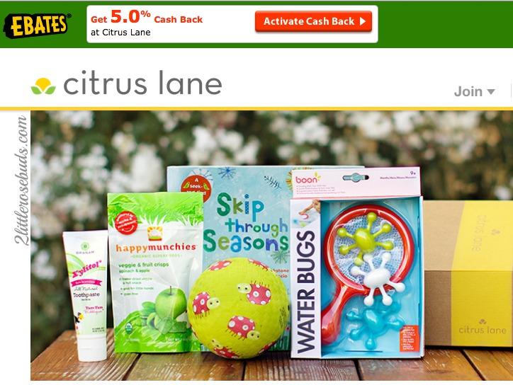 Citrus Lane Ebates