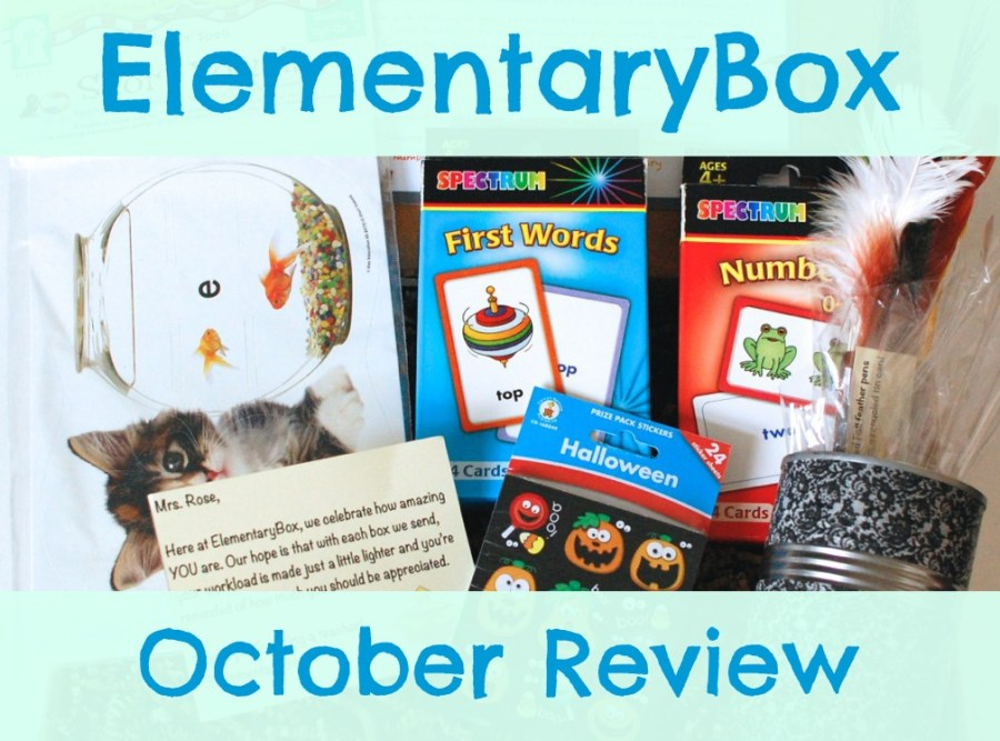 ElementaryBox October review