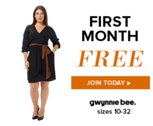 Gwynnie Bee – Last Day for FREE Month, FREE Tote, + FREE Bonus Outfit