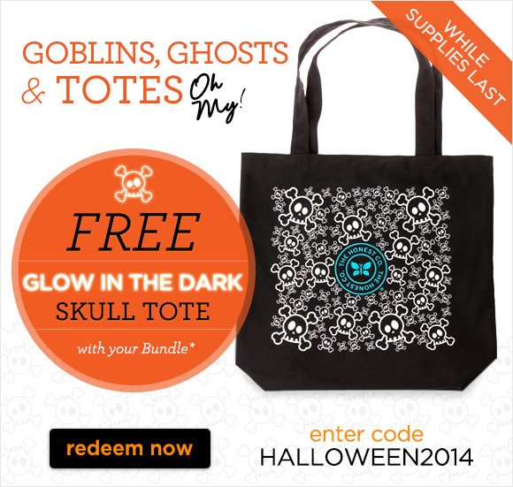 Free Halloween tote from Honest Company