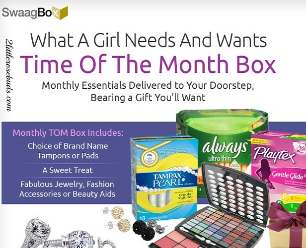 $5 Swaag Box Trial Offer — New Time of the Month Subscription Box
