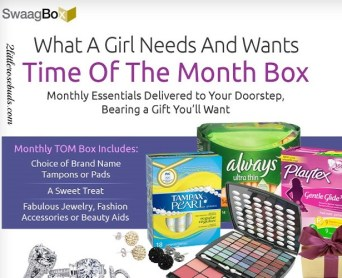 Swaag Box Time of the Month Box