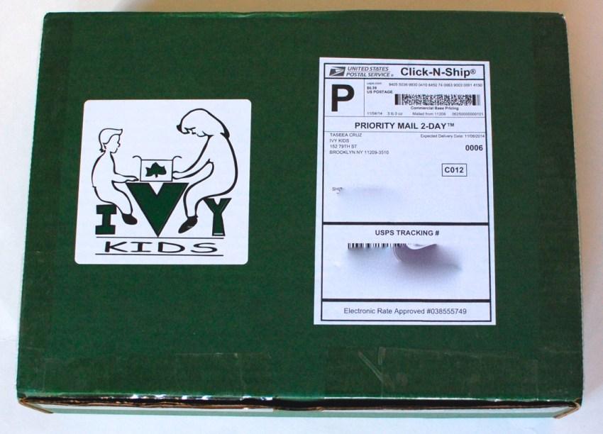 Ivy Kids November 2014 green box
