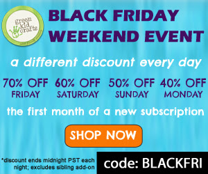 Green Kid Crafts Black Friday sale 2014