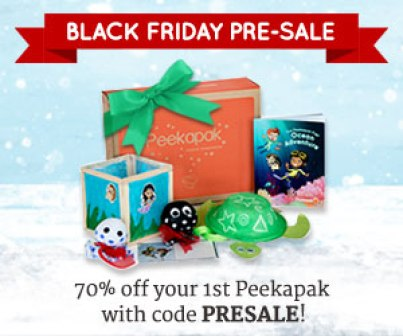 Peekapak pre-black friday