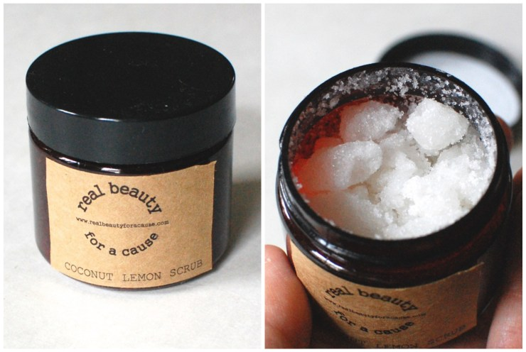 Real Beauty for a Cause Lemon Coconut Sugar Scrub