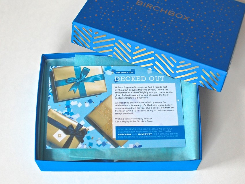 Birchbox December 2014