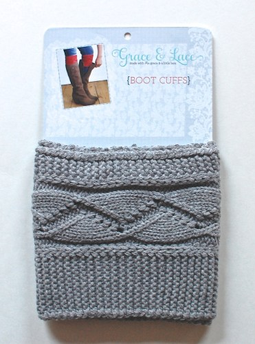 Grace & Lace boot cuffs