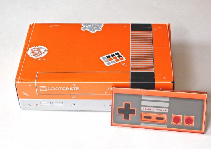 Loot Crate January 2015 Nintendo box