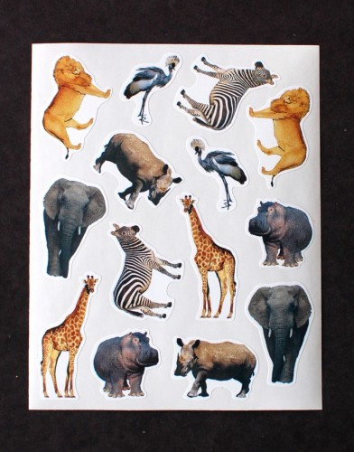 Pipsticks animals