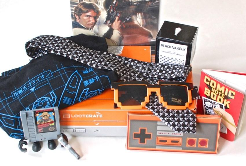 January 2015 Loot Crate