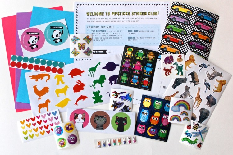 Pipsticks Sticker Pack Review January 2015 & Coupon Code