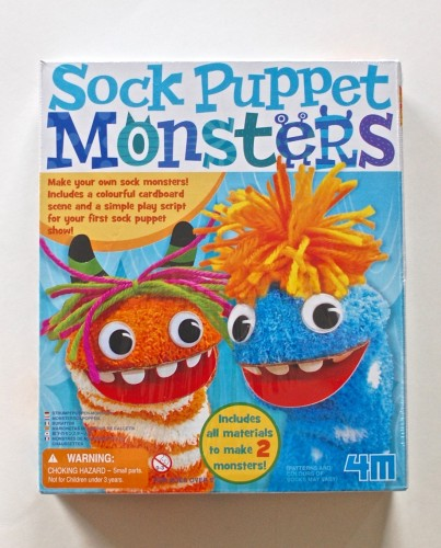 Sock Puppet Monsters