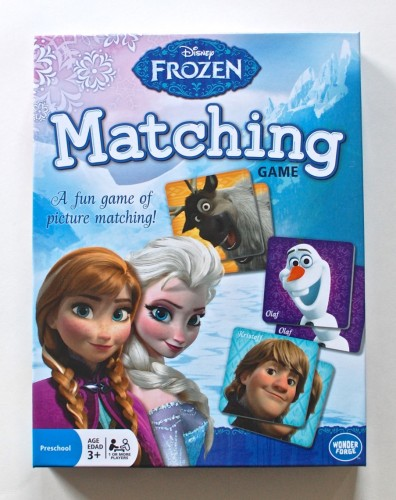 Frozen matching game