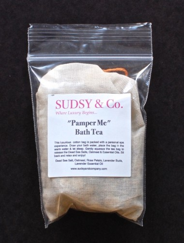 Pamper Me bath tea