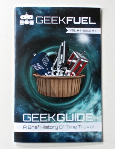 Geek Fuel booklet