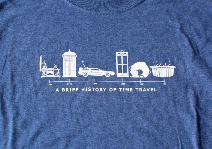 History of Time Travel shirt
