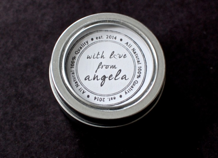 With Love From Angela lotion
