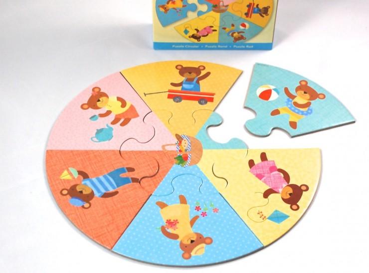 Mudpuppy puzzle wheel