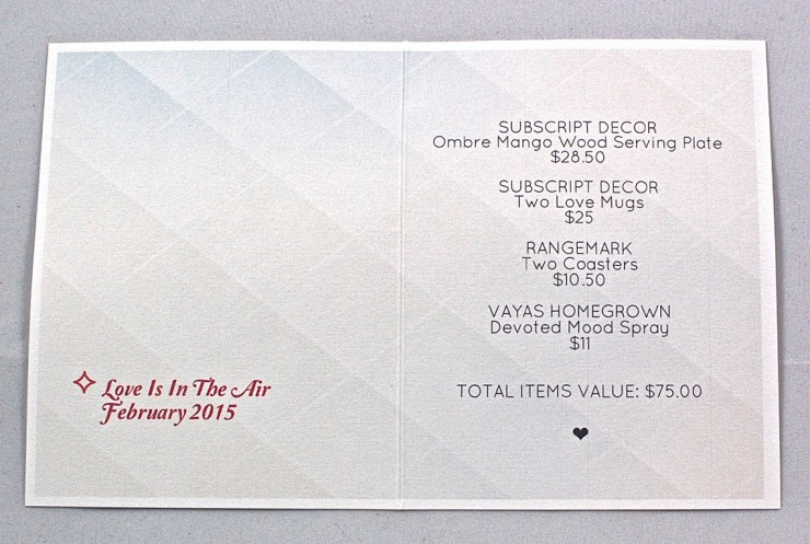 Subscript Decor info