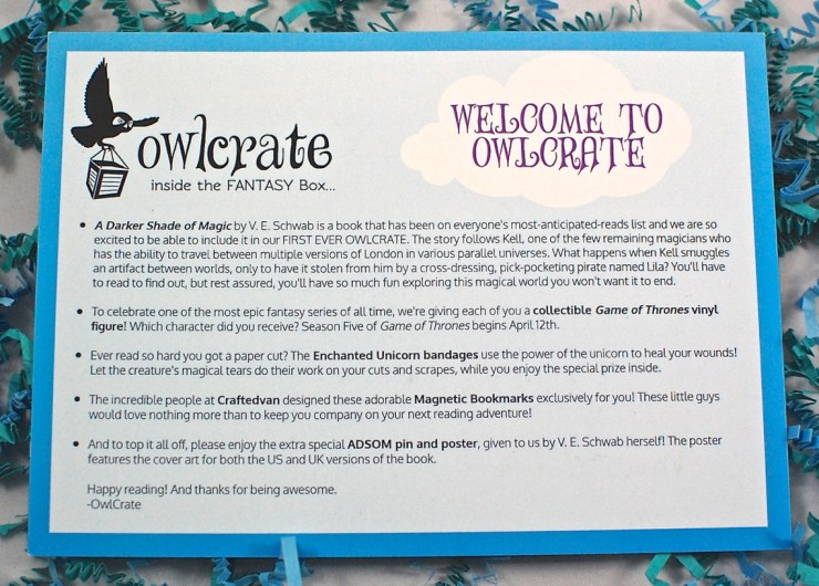 OwlCrate March