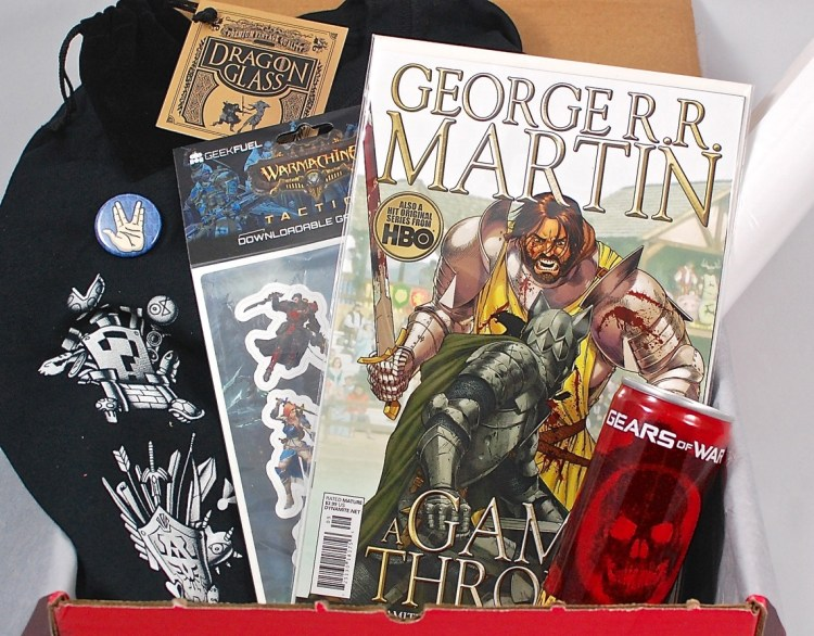 Geek Fuel March 2015 Review