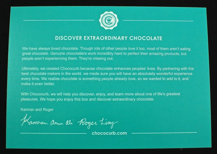 Chococurb card